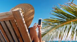 Refrain from posting activities relating to your holiday travels on Facebook and Twitter. It's a good idea to switch off the location services on your phone.