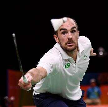 Scott Evans competes at the 2016 Rio Olympic Games Picture: Stephen McCarthy/Sportsfile