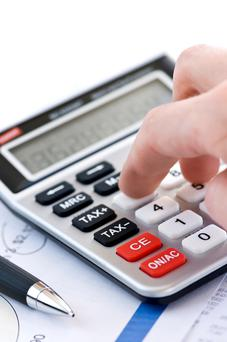The main advantage of filing your return through ROS is that it will calculate your tax bill for you (Stock picture)