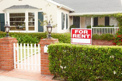 Rents are at the highest level they have ever been at, due to the collapse of the property market.