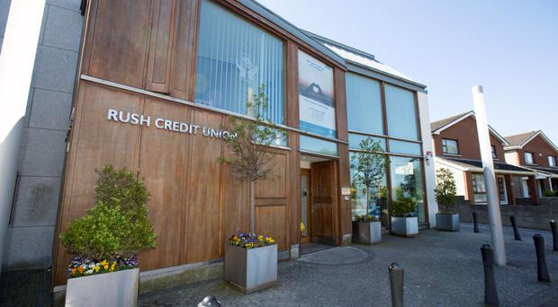 Rush Credit Union, which is at the centre of the probe Picture: Mark Condren