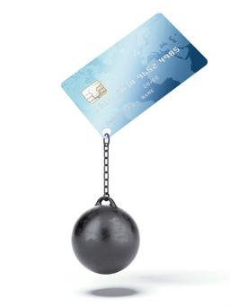 Paying the minimum means you will end up paying more in interest and it will take ages to reduce what you owe on your card (Stock picture)