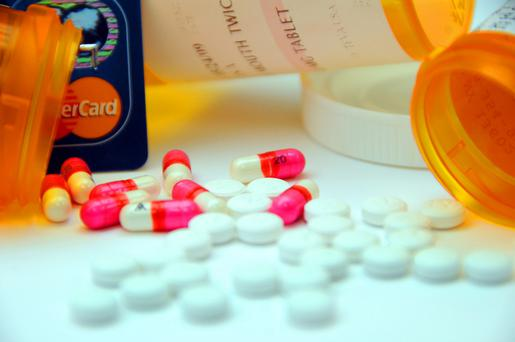 One option to cut the cost is to buy from a discount pharmacy. These usually have an annual subscription charge of €25 and offer you heavily discounted medicines, often delivered to your door (Stock picture)