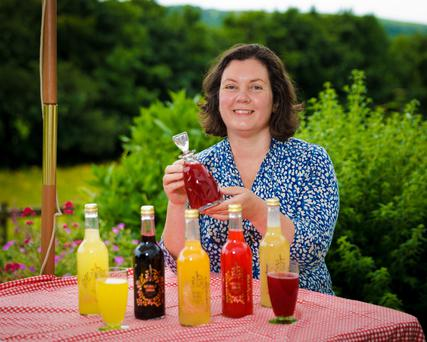 Clodagh Davis is hoping to grow her export sales after the success of her Naturally Cordial brand in Ireland. Photo: Joe Keogh