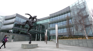 AIB headquarters in Ballsbridge