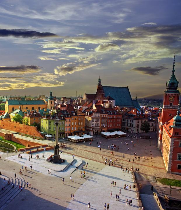 Properties in places such as Warsaw in Poland are becoming popular with Irish buyers again