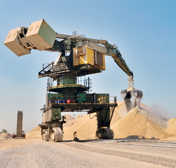 'Taking advantage of a recovering construction market while using a tried and tested approach to acquisitions, Hill and his team has succeeded in building Summit Materials into one of the most attractive building materials companies in the US' (stock photo)