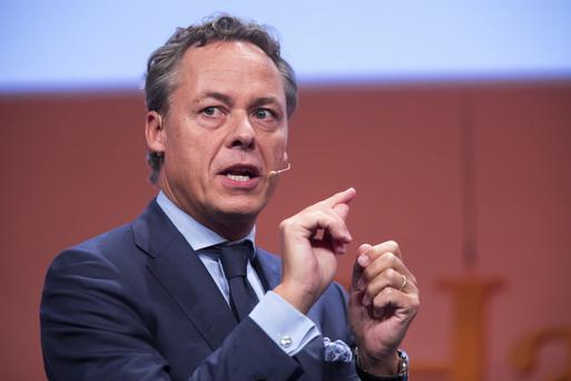 Ralph Hamers, ceo of ING, helped create a well-capitalised and profitable bank. Photo: Bloomberg
