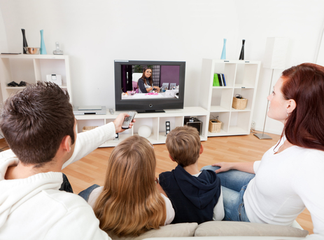Home comforts: A family's debt is now written off under the new scheme. Stock Image