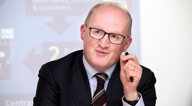 Irish banks have paid around €580m to customers impacted by the tracker mortgage scandal, according to the Central Bank Governor Philip Lane.