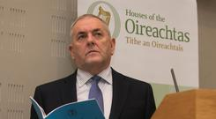 Oireachtas Finance Committee chairman John McGuinness. Picture: Collins