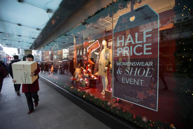 A big deal: Some sales start online on Christmas Day before kicking off in store on December 26