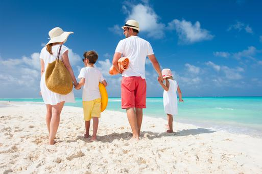 Booking your summer getaway in January can save you thousands - particularly if you're a family wishing to travel in the peak summer months. Stock photo: Alexander Shalamov