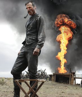 In There Will Be Blood Daniel Day-Lewis played an oilman out to strike it rich during California's oil boom — prices are once again on the rise