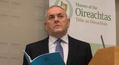Oireachtas committee chairman John McGuinness. Photo: Collins