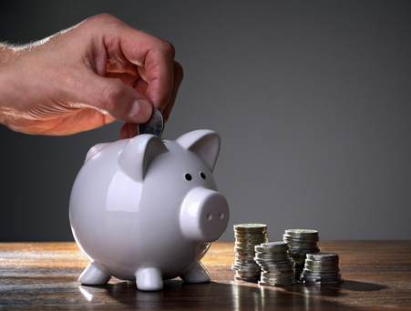 Most respondents (41pc) said they would like to save more money this year (Stock Image)