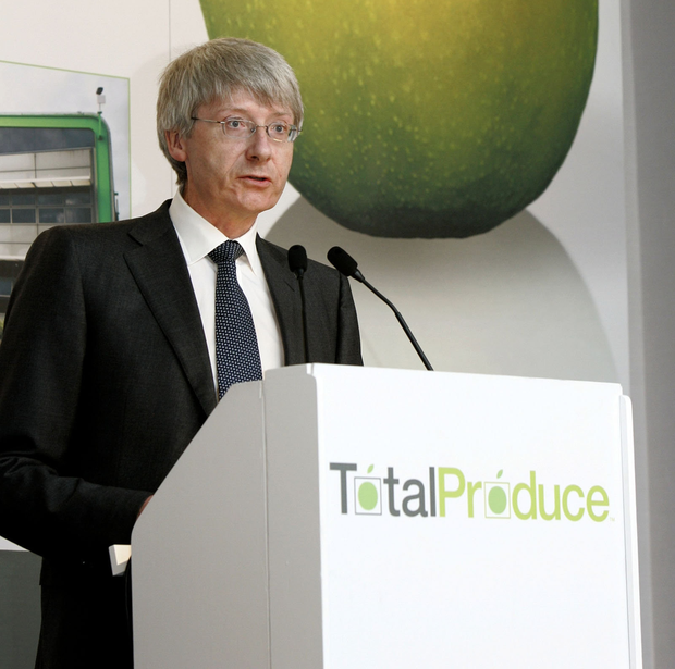 Carl McCann, chairman Total Produce, a major producer and distributor of fresh produce