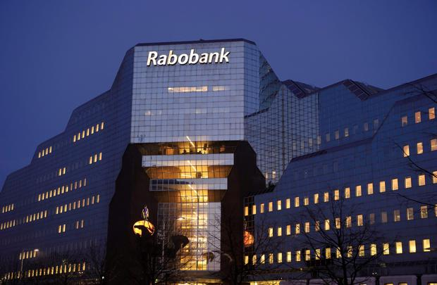 Rabobank's HQ in the Netherlands — the lender's decision to pull out of Ireland will affect more than 90,000 Irish savers Photo: Bloomberg