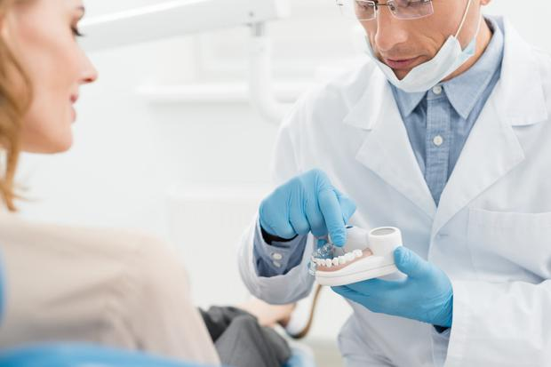 Jaw-dropping: Some dental procedures cost thousands and few insurance providers offer plans to cover them. Stock Image