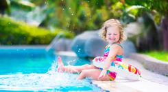 Tjhere are some good deals on swim wear and toys