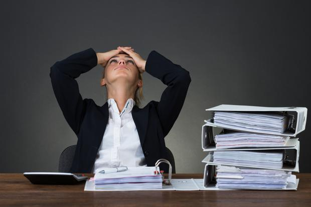 My first advice is to talk to your boss or human resources (HR) manager and explain to them that this is unsustainable. (Stock picture)