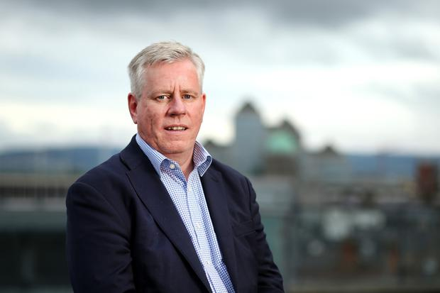 Award-winning journalist Charlie Weston is in line to win Business Story of the Year for his in-depth coverage on alleged cartel activity in the insurance industry. Photo: Gerry Mooney