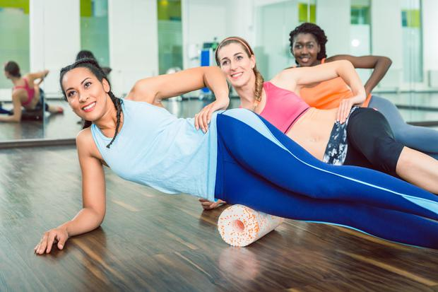 Discipline: Joining a gym with classes like Pilates can make it easier to stick to fitness goals