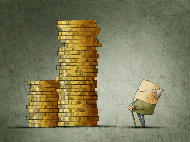 'The proposed earnings threshold would exclude anyone earning below €20,000 per annum.' Stock image