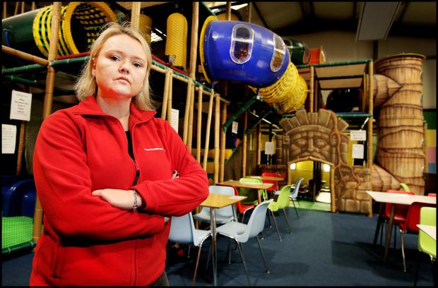 Victory: Linda Murray managed to keep her play centre in Navan, Co Meath, open by securing insurance for her firm