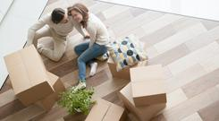 In many parts of the country, it is now twice as expensive to rent a small apartment or home than to pay a mortgage on it. Stock image