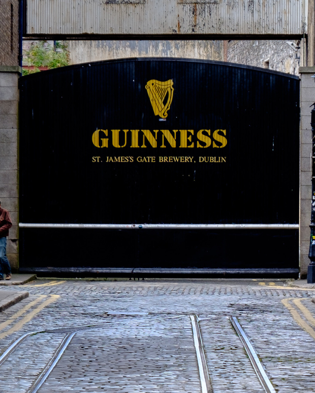 Diageo owns Dublin's Guinness brewery, is benefiting from the demand for gin