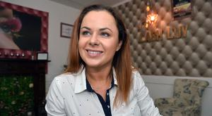 Financial independence: Monika Wojtysiak (35) takes a holiday every month. Picture by Ray Ryan