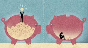 Pig's back: Proper pension planning early in life can mean an easier and more relaxing time down the road...