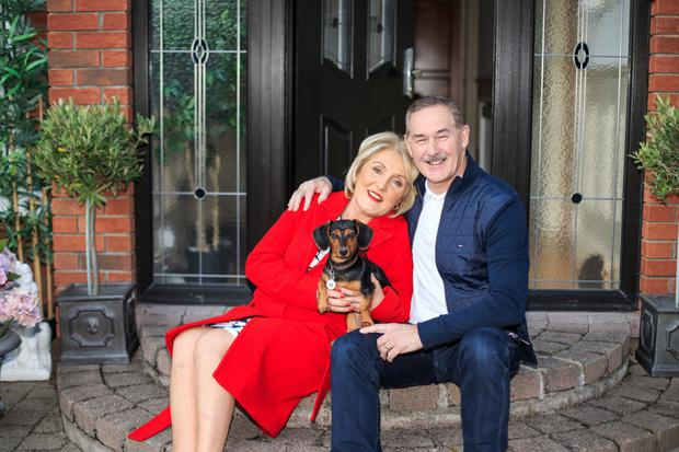 Moving on: Estate agent Janet Carroll and her husband, Luke, plan to 'right-size' rather than downsize after they sell their 'empty nest' home in Blackrock, Dublin. Photo: Mark Condren