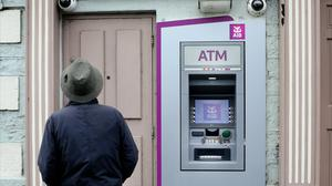 From the end of this week, AIB will end fee-free transactions and account management for customers who avoided fees and charges up to now by maintaining a balance of €2,500. Photo: Steve Humphreys