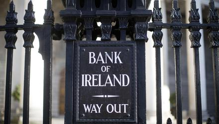 Bank of Ireland is closing 88 branches in the Republic. Photographer: Simon Dawson/Bloomberg