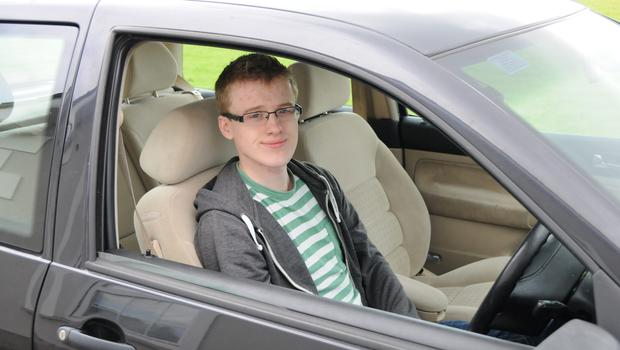 Longford student Robin O'Neill needs his car to get to work from rural Drumlish