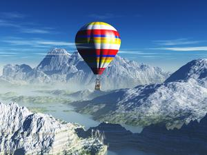 Hot air balloon trips with Irish Balloon Flights usually run between April and September, though the VIP flights can also run during the winter