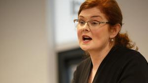 Central Bank's Director General of Financial Conduct Derville Rowland. Photo: Mark Condren