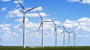 Energia operates a number of wind farms and supplies energy to homes.