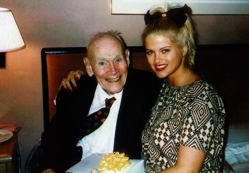 True Love: Stripper Anna Nicole Smith, 26, married 89-year-old billionaire J Howard Marshall II in 1994. He died in 1995.