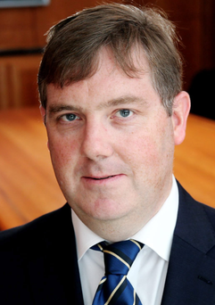 Action: Ed Farrell of the Irish League of Credit Unions