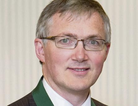 Dermot Corry of the Society of Actuaries