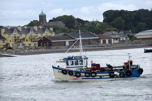 Wicklow Harbour offers residents some terrific views.