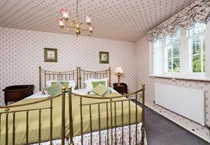 One of the bedrooms in Glendalough House