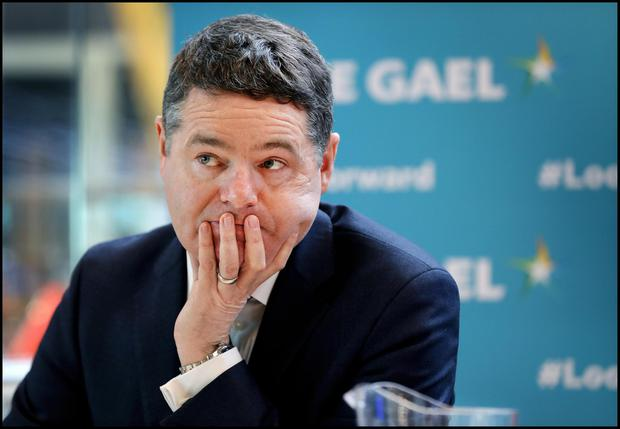 Finance Minister Paschal Donohoe has outlined proposals for tax. Photo: Steve Humphreys