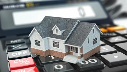 Mortgages in this country are expensive when compared with the rest of the Eurozone. Stock image