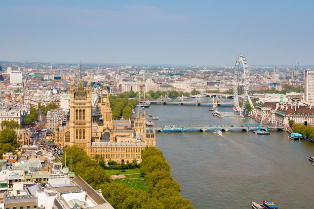 London values fell 5.9pc from the previous month to an average of €691,000