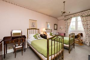 One of Glendalough House's bedrooms