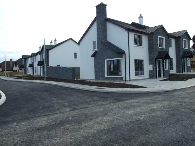 Two houses remain in Stony Park, Wexford